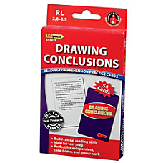 Edupress Reading Comprehension Practice Cards Drawing