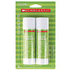 Scholastic Glue Sticks 14 Oz Pack