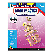 Carson Dellosa The 100 Series Math