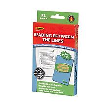 Edupress Reading Comprehension Practice Cards Reading
