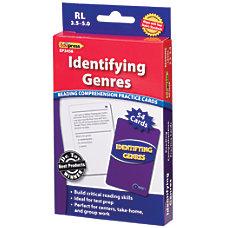 Edupress Reading Comprehension Practice Cards Identifying