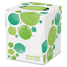 Seventh Generation 100percent Recycled Facial Tissue
