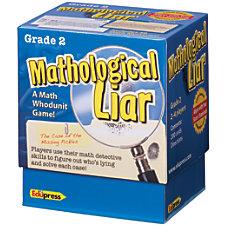 Edupress Mathological Liar Game Grade 2