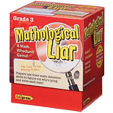 Edupress Mathological Liar Game Grade 3