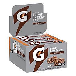 Gatorade Chocolate Chip Prime Energy Bars