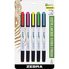 Zebra Pen Highlighter Fine Point Type
