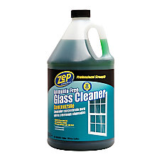 Zep Glass Cleaner Concentrate 1 Gallon