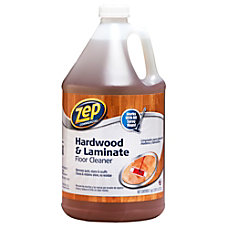 Zep Hardwood Floor Cleaner 1 Gallon