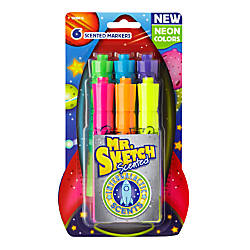 Mr Sketch Intergalactic Neon Scented Markers