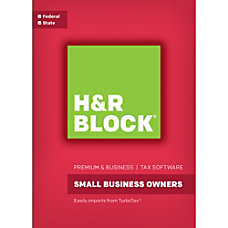 H R Block 16 Premium Business