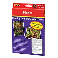 Edupress Reading Comprehension Science Cards Plants