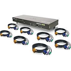 Iogear 8 Port Combo VGA KVMP