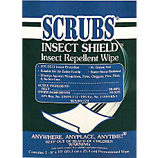 INSECT SHEILD INSECT REPELLANT TOWEL 1PACKAGE