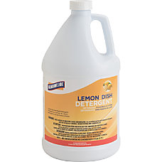 Genuine Joe Lemon Dish Detergent Liquid