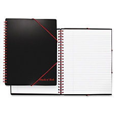 Black n Red Twinwire Filing Notebook