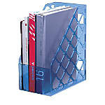 Officemate Blue Glacier Large Magazine File