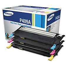 Samsung CLT P409A Color Toner Cartridges