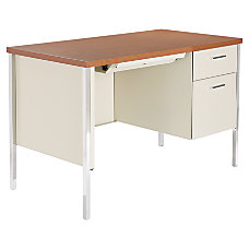 Alera Single Pedestal Desk 29 12