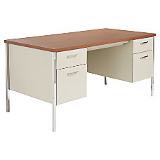 Alera Double Pedestal Steel Desk 29