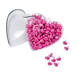 Office Depot Brand Heart Shaped Push