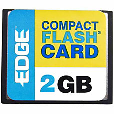 EDGE Tech 2GB Digital Media CompactFlash
