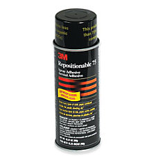 3M Repositionable 75 Adhesive 16 Oz