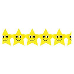 Hygloss Happy Yellow Stars Border Strips