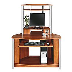 Citadel Corner Computer Desk With Integrated USB Hub 60 1116 H x