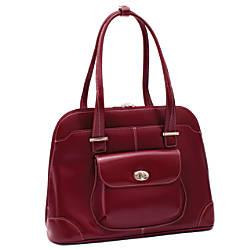 McKleinUSA AVON 96656 Red Leather Ladies
