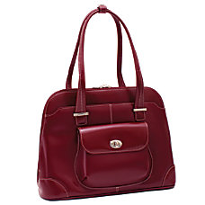McKleinUSA AVON 96656 Red Leather Ladies