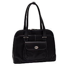 McKleinUSA Avon Leather Ladies Briefcase Black