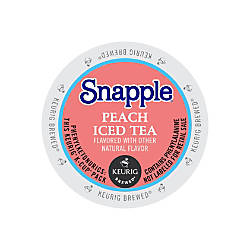 Snapple Peach Iced Tea K Cup