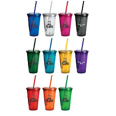 Double Wall Insulated Acrylic Tumbler With