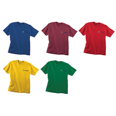 Screened 5050 T Shirt Color By Office Depot Officemax