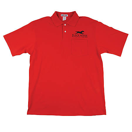 Jerzee Embroidered 5050 Polo Shirt By Office Depot Officemax
