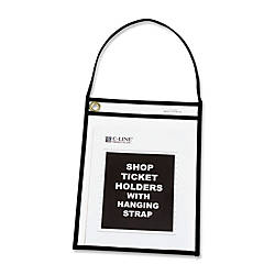 C Line Stitched Shop Ticket Holders