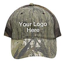 Camouflage Mesh Back Cap