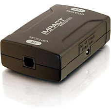 C2G Optical to Coaxial Digital Audio