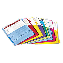 Cardinal Extra tough Poly Dividers 8