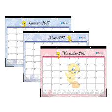 Blue Sky Desk Pad Calendar 22