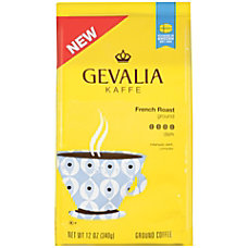 Gevalia French Roast Coffee 12 Oz
