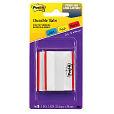 Post it Durable Filing Tabs 2
