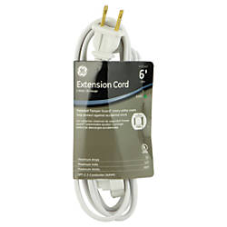 GE Extension Cord 6 White