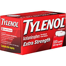 Johnson Johnson Tylenol Extra Strength Caplets