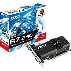 MSI R7 240 2GD3 LP Radeon