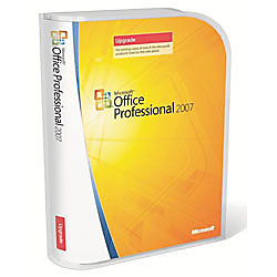 microsoft office professional 2007 upgrade version