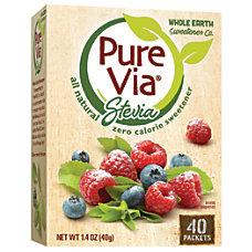 Pure Via All Natural Sweetener 14