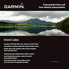 Garmin Canada Inland Lakes Yukon Digital