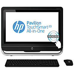 "HP Pavilion TouchSmart 23-f270 All-In-One Desktop Computer With 23"" Touch-Screen Display & 3rd Gen Intel® Core™ i3 Processor"