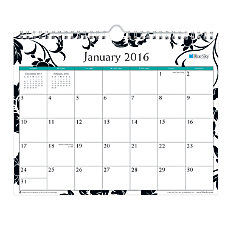 Blue Sky Monthly Wall Calendar 11